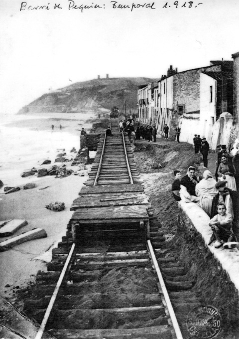 El Barri de Pekin el formaven famílies de mariners. Foto cedida per en Nicolau Fornés.