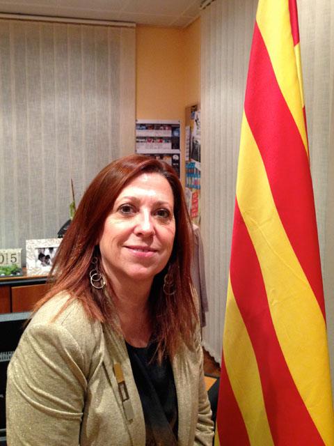 Montserrat Candini, alcaldessa de Calella