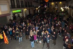Més d'un centenar de persones han respós a l'acte de Somescola.cat a Calella. Foto: Tino Valduvieco