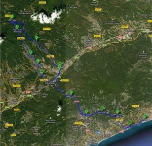 La Half Challenge canvia el seu recorregut de bicicleta. Deixa el Maresme per endinsar-se en el Vallés Oriental.