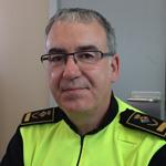 Joan Vilademat, inspector en cap de la Policia Municipal de Calella