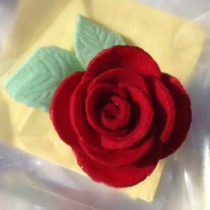 Diada de Sant Jordi 2013. Rosa comestible
