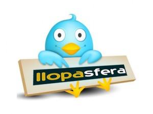 Logo Llopasfera al twitter
