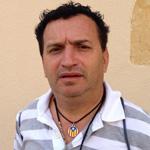 Rodrigo Muñóz, cap de Colla de la Mascarada de Santana