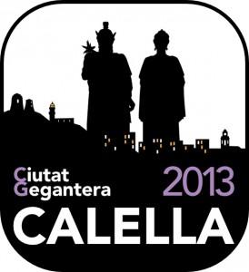 Logo Calella Ciutat Gegantera 2013