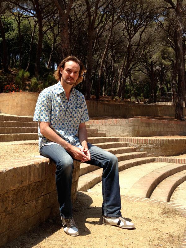 Albert Deprius al Parc Dalmau. Foto: carlespascual.cat