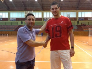 Dani Romero, coordinador de la base a l'UEH Calella i Salva Puig, el nou director esportiu