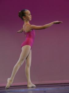 Adriana Calvo, membre de l'Escola de Dansa de Calella