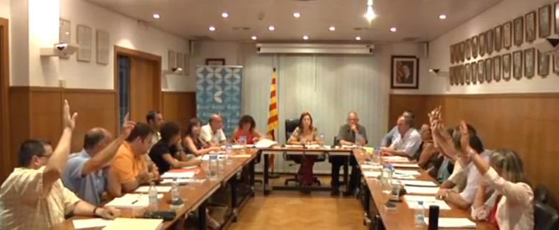 Els regidors del PSC i el PP voten en contra del Salicrú a la Fàbrica