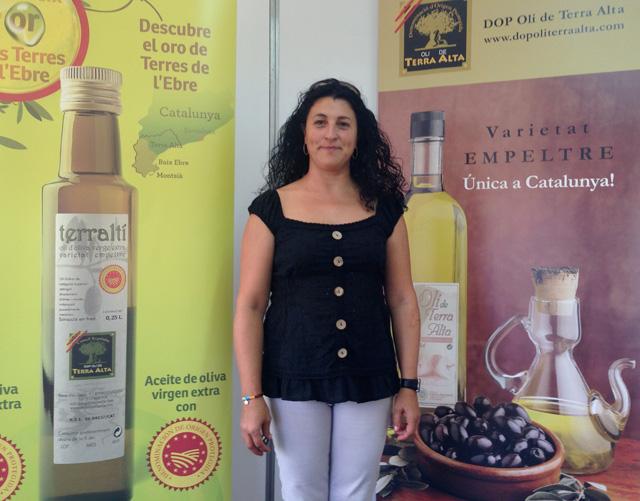 """El """"Terraltí"""", oli verge extra, fet per a servir entre els restauradors. Foto: carlespascual.cat"""
