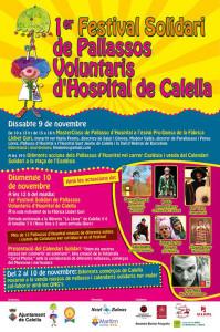 El cartell del primer Festival de pallassos voluntaris d'hospital