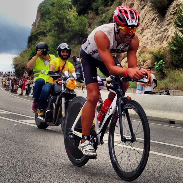 Imatge d'un dels participants a la Challenge Costa de Barcelona-Maresme. Foto: carlespascual.cat