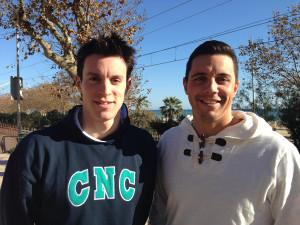 Alan i Brenton Cabello, els dos germans nascuts al Masnou. Foto: carlespascual.cat