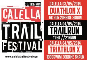 Cartell del Calella Trail Festival