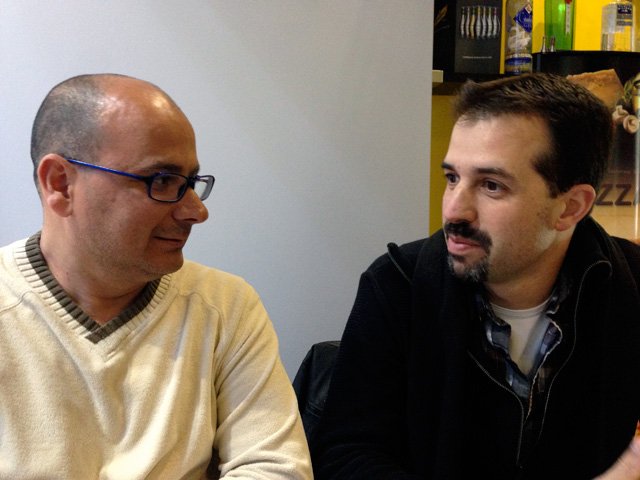 En Miguel Àngel ha tornat a inserir-se en el món laboral gràcies a la iniciativa de Gabriel Belvedere. Foto: carlespascual.cat
