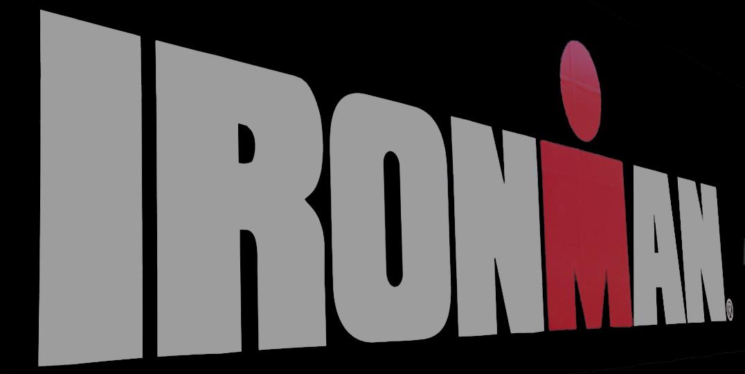 Ironman, logo de la marca nord-americana de triatlons. Foto: carlespascual.cat