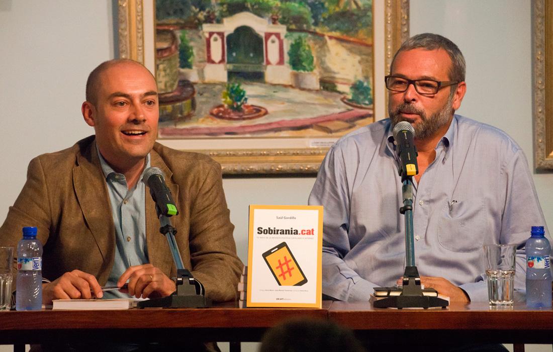 Sobirania.cat arriba a la conclusió que el 'ciberindependentisme' ha avaforit el procés sobiranista català. Foto: Tino Valduvieco