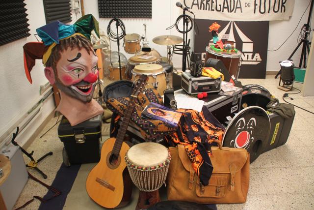 Txarango ja té les maletes preparades per marxar cap a l'Àfrica. Foto: Jordi Verdura