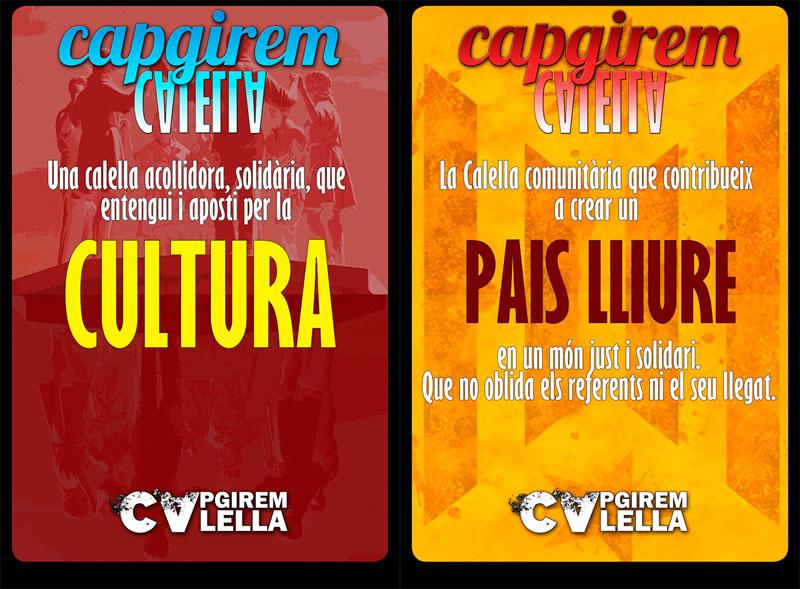 """""""Capgirem Calella"""", la plataforma amb què la CUP té la intenció de formalitzar una candidatura de cara a les municipals 2015. Foto: CUP Calella"""