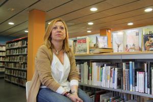 Montserrat Candini, alcaldable de Convergència i Unió a Calella. Foto: Bernat Marrè