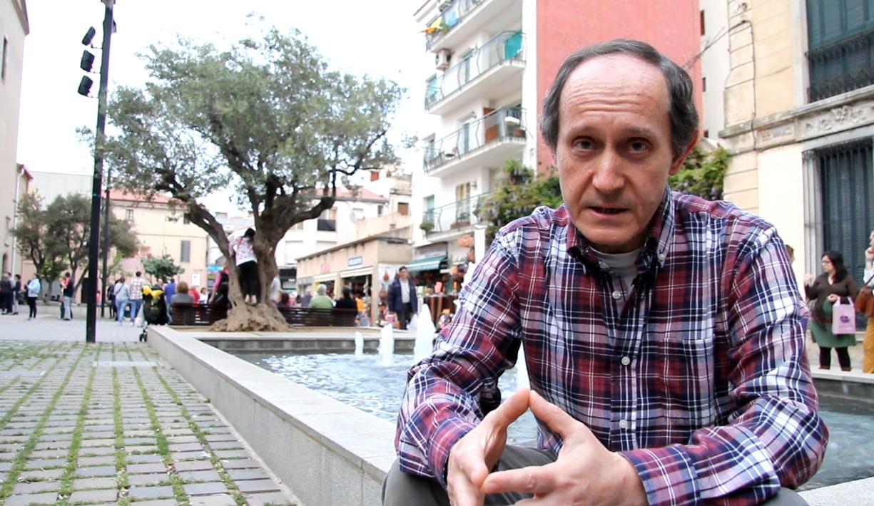 Toni Pous, alcaldable de Plataforma per Catalunya a Calella. Foto: Bernat Marrè