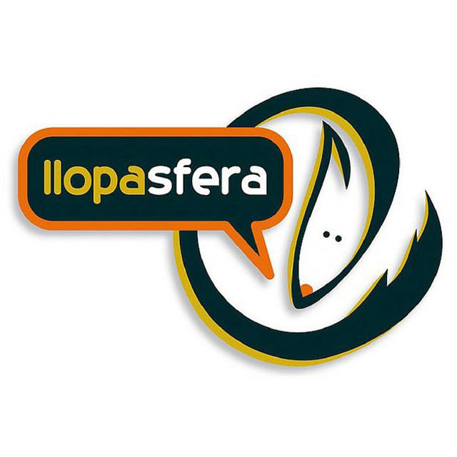 Logo de la Llopasfera. Font: Llopasfera
